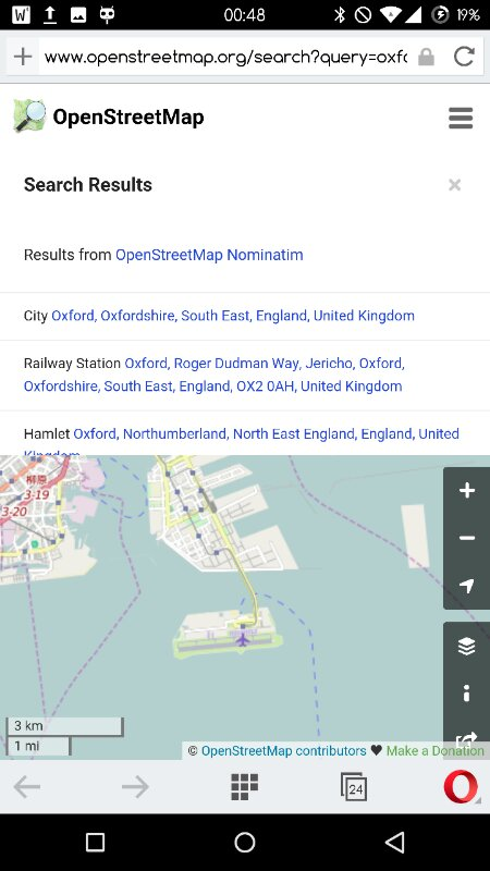 osm.org search results screenshot on mobile device