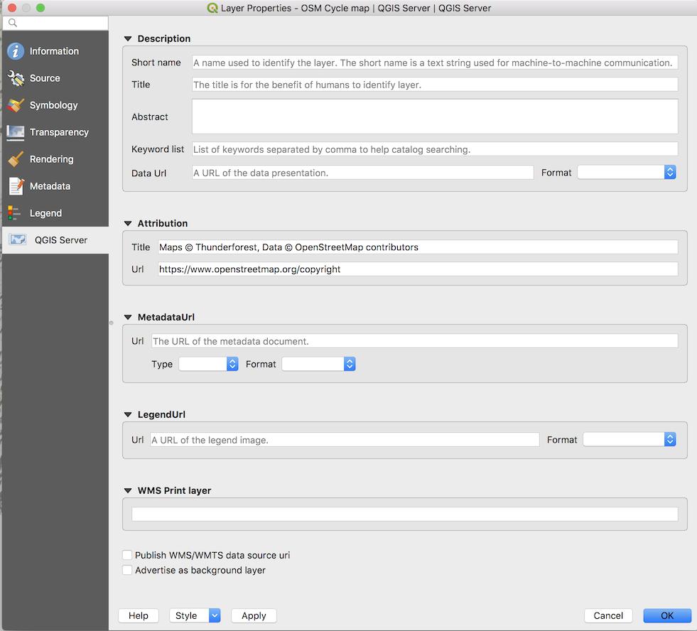 thunderforest api key in QGIS 3 - OSM Help