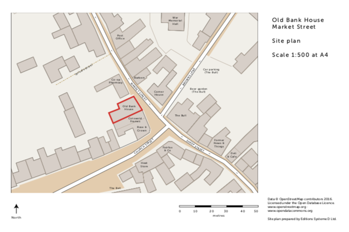 successful planning application with OSM