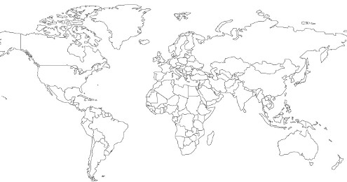 Generating a political world map with osm data osm help vector map of the world mercator projection gumiabroncs Images