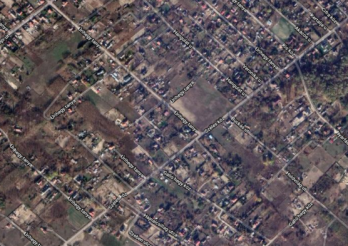 Rural-suburban areas