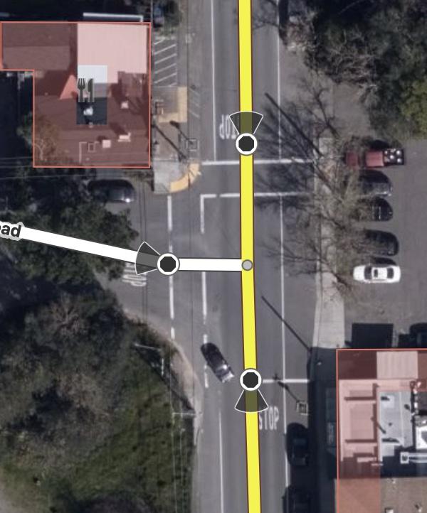 Muti-stop intersection