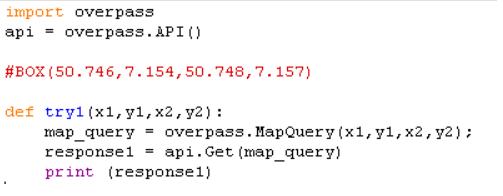 Overpass API Python save tags - OSM Help