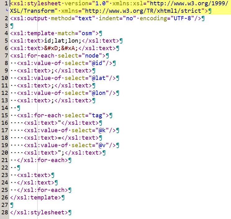 Example of an xsl:stylesheet for msxsl.exe
